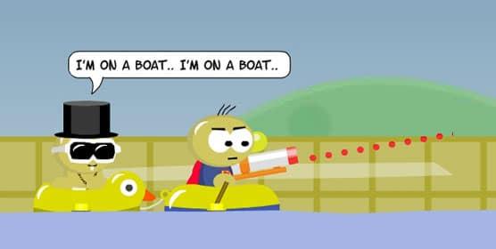 Raft Wars 2 - Free Online Kids games
