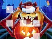 Taz Halloween Puzzel