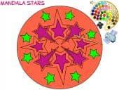 Mandala Stars Colouring