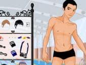 Swimming Pool Boy Dress Up