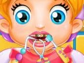 Baby Lizzy at the Dentist