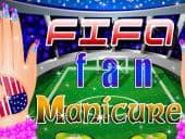 Fifa Fan Manicure