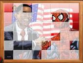 Obama Spiderman Puzzel