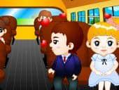 Schoolbus Kiss