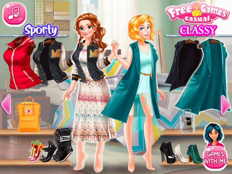 Princess Anti Fashion: Sporty + Classy