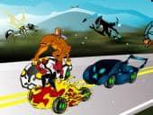 Ben 10 Car Scene