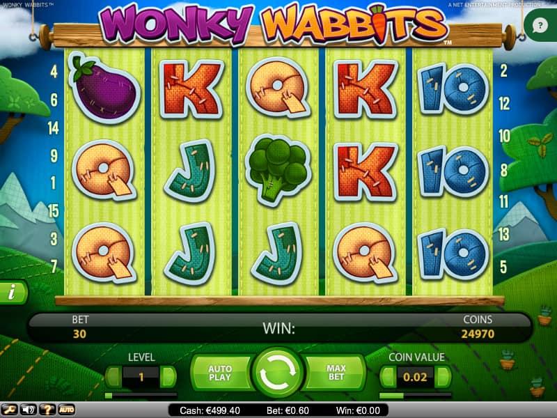 Wonky Wabbits Reel