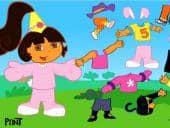 Dora aankleden