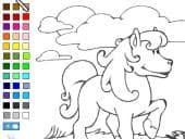 Pony Kleurplaat