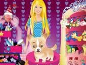 Barbie And Her Cute Dog