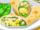 Crunchy Hawaiian Chicken Wrap