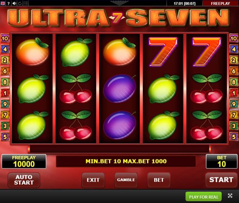 Ultra Seven Reel