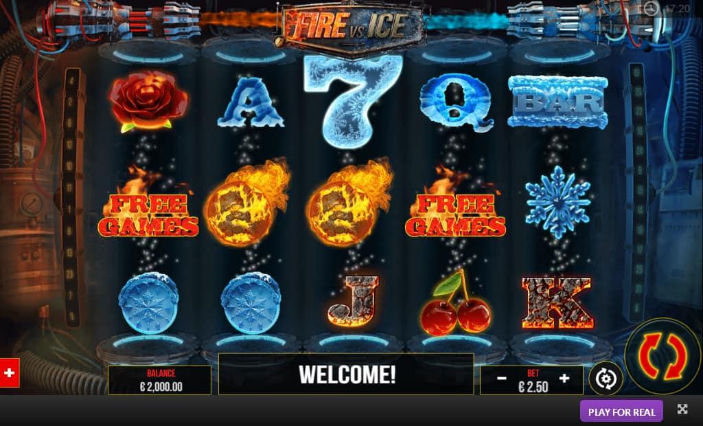 Fire vs Ice Slots
