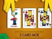 Simpsons 3 Card Moe