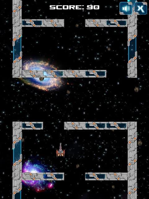 The Galactic Maze