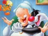 Sylvester en Tweety Puzzel