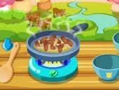 Steak and Mushroom Cooking Game